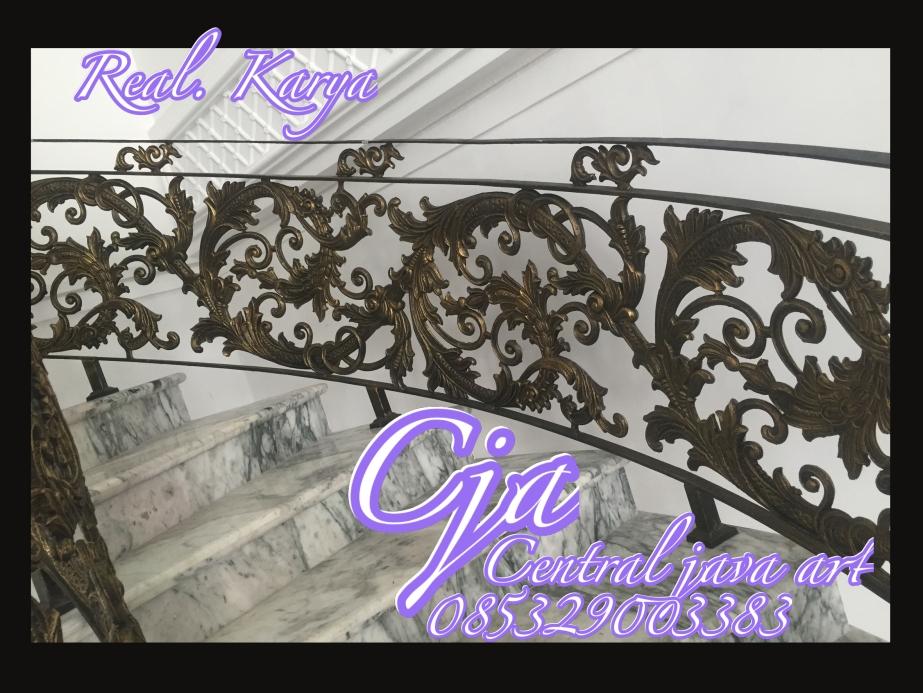 railing tangga klasik,n